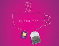 Amarant herbal tea poster
