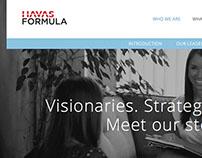 Havas Formula Website