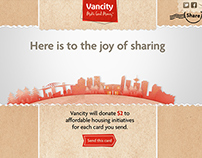 Vancity Holiday e-Card