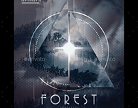 Forest Party Flyer