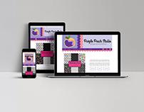 Purple Peach Studio Responsive Design
