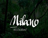 Milano Restaurant Identity