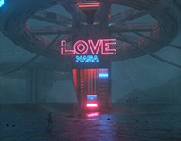 Cinema4D works from January to July 2018 VOL.1