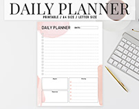 Free Colorful Daily Planner Printable V3