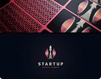 Startup Rocket Logo