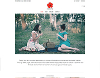Poppy May - Website