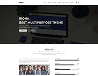 Riona - Multipurpose Portfolio PSD Template