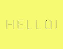 HYESANG Typeface