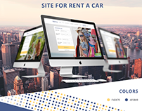Site rent of car