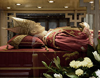 In Zagreb, the Sarcophagus of Cardinal Stepinac