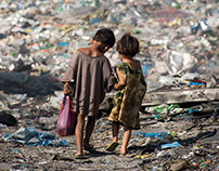 Charity - dump site people