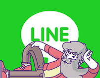 Stickers for LINE