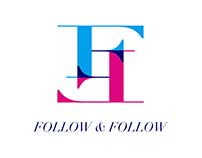 "Logo - ""互"" Follow & Follow"