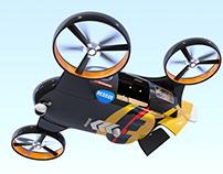 Autonomous drone platform concept
