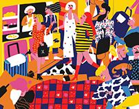 """La siesta española"" Individual exhibition - Madrid"