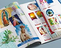 Catálogo afiches y tarjetas