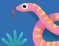 ..Pink Snake..