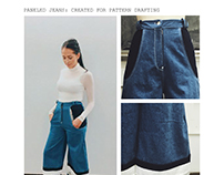 Paneled Jeans: Pattern Drafting I