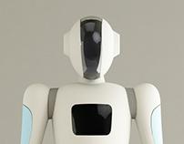Beijer android design-北爾人型機器人模擬設計