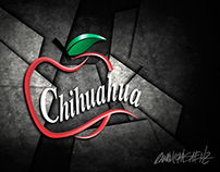 Identity for the Chihuahua Apple brand.