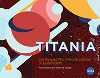 Nasa Inspired Poster Design