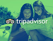 Tripadvisor Redesign - UI & UX Design + Animations