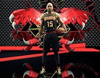 Atlanta Hawks Court Projection Fall 2015