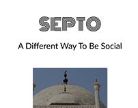Septo Social app