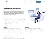 Creative Resume Website version