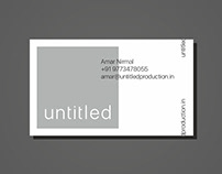 Branding for Untitled Production