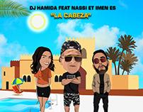 Couverture Single - DJ HAMIDA LA CABEZA 2019