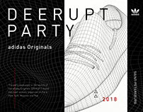DEERUPT adidas Originals - event, design, art, smm