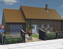 Projet D.A.O-Architecture: La Maison