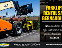 Forklift Rental San Bernardino