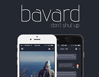 Bavard Mobile Chat App Ui