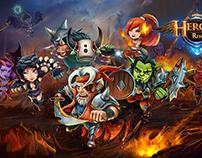 Heroes Reborn _ mobile game art