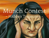 Adobe Munch Contest - Hidden Treasures #MunchContest