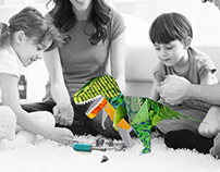 Mix & Match Pattern Dinosaur kit