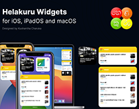iOS 14 Widgets for Helakuru App
