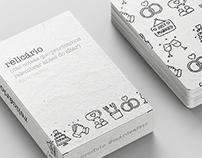 relicário   card game   graphic design