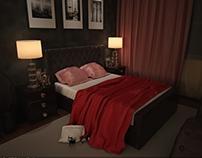 New shot of bedroom