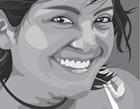 DGD: Illustrator self-portrait
