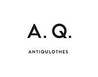 "A.Q. ANTIQULOTHES ""Brand Identity Renewal"""
