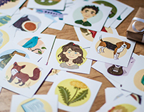 Memory Game - children illustrations