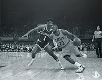 Oscar Robertson vs. LeBron James Composition