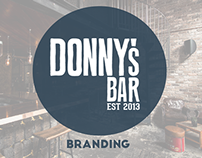 DONNYS BAR MANLY - BRANDING