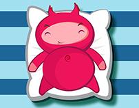 Lazy devil