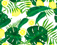 Palms and lemons
