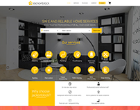 Home services webdesign