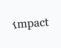 Impact Typographic Expression Designed by Mandar Apte